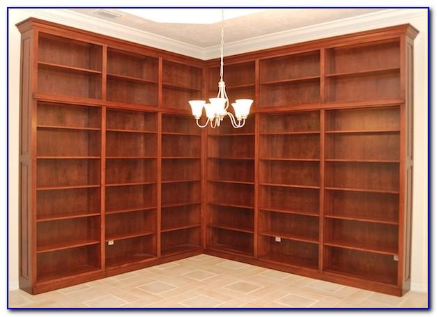 Corner Wall Unit Bookcase