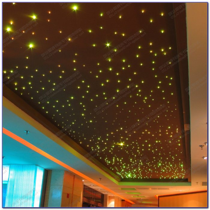 Diy Fiber Optic Ceiling Lighting