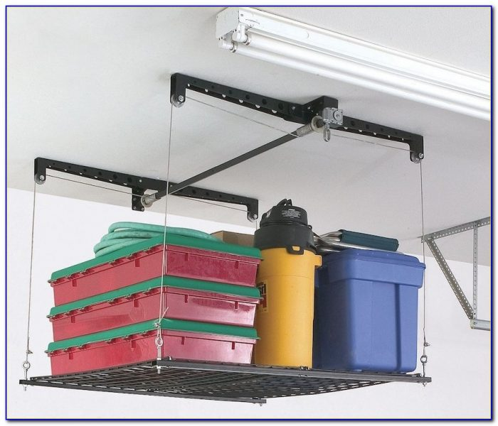 Diy Garage Ceiling Storage Lift
