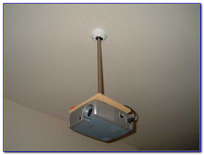 Drop Down Ceiling Projector Mount