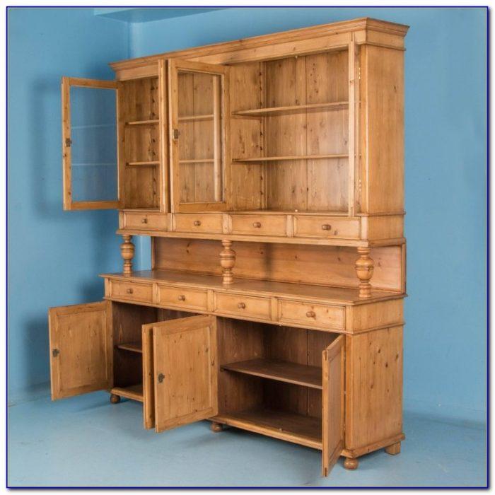 Extra Large Pine Bookcase
