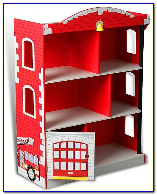 Fire Station Bookcase Uk