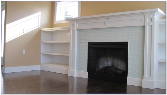 Fireplace With Built In Bookcases
