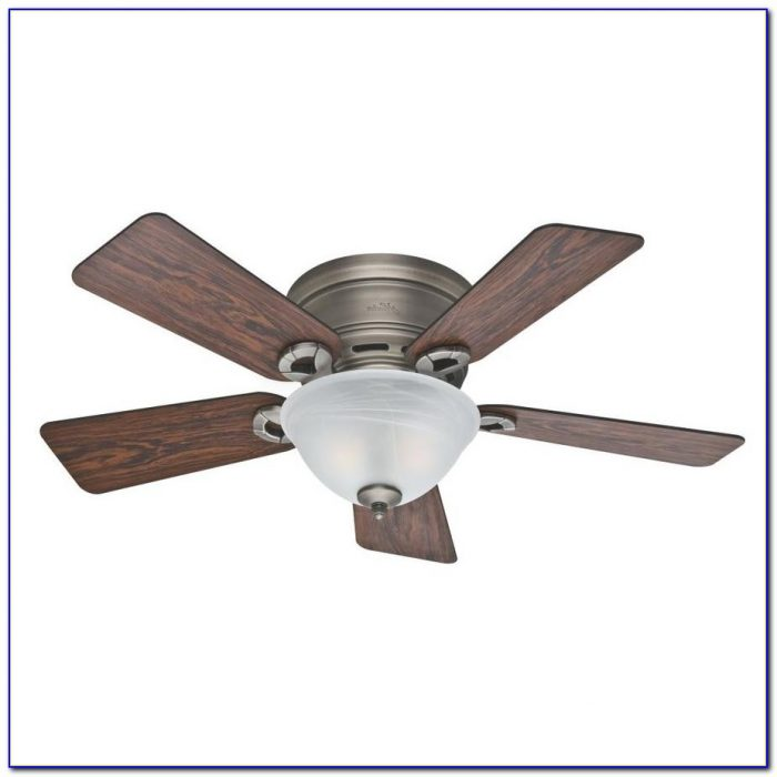 Flush Mount Ceiling Fans With Lights And Remote