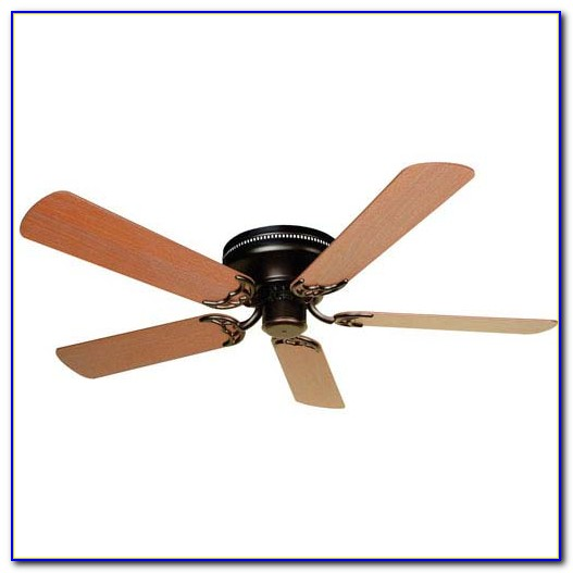 Flush Mount Ceiling Fans Without Lights