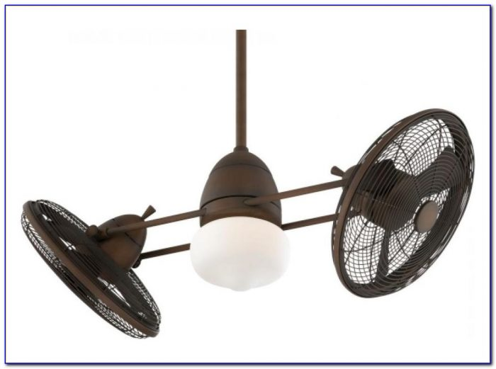 Flush Mount Dual Motor Ceiling Fan