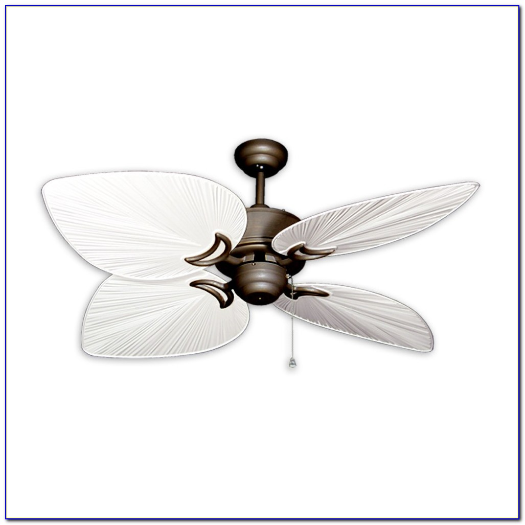 Flush Mount Tropical Ceiling Fans With Lights Ceiling