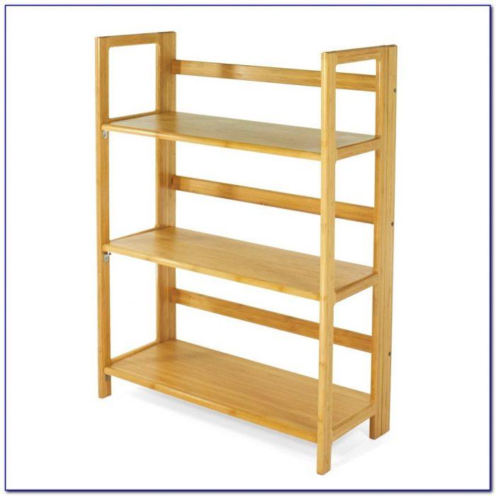 Folding Wooden Bookshelves