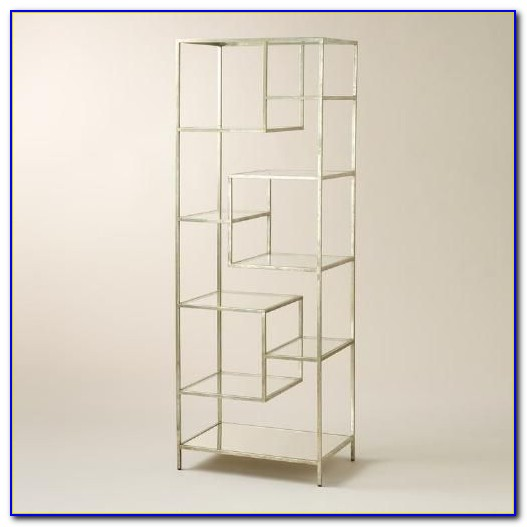 Glass Bookcase Shelves