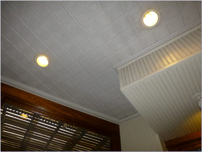 Glue Up Ceiling Tiles Styrofoam