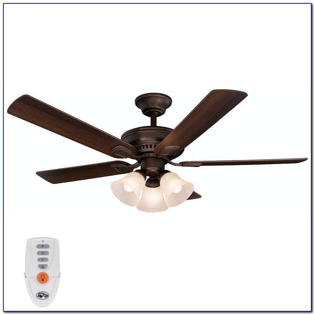 Hampton Bay Ceiling Fan With Remote Installation Instructions