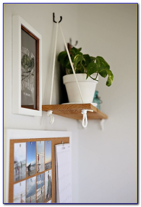 Hanging Shelves From Ceiling Joists