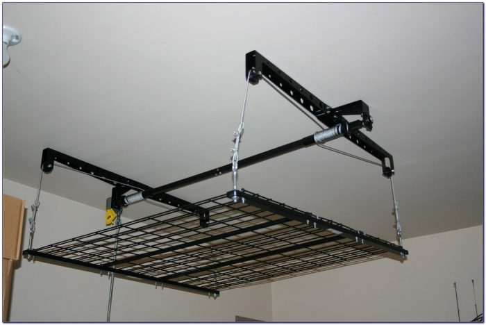 Heavy Lift Garage Ceiling Storage