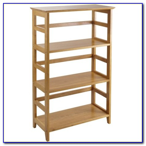 Honey Pine Bookshelf