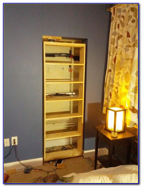 How To Build Secret Bookcase Door