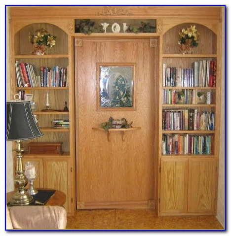 How To Build Secret Bookshelf Door