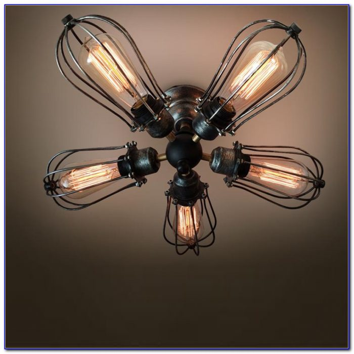 Hunter Ceiling Fan With Edison Bulb
