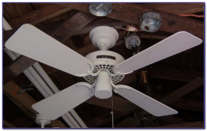 Hunter Original Ceiling Fan 52 White