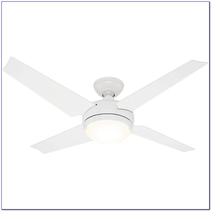 Hunter White Ceiling Fan Blades
