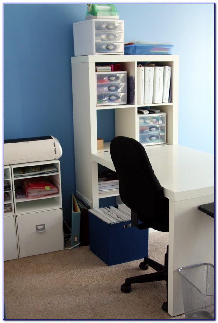 Ikea Billy Bookcase And Desk