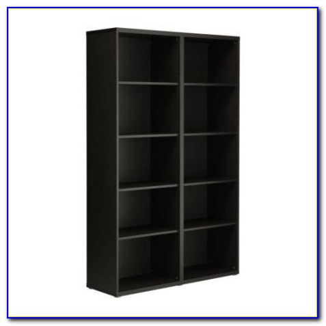 Ikea Bookshelf Black Brown