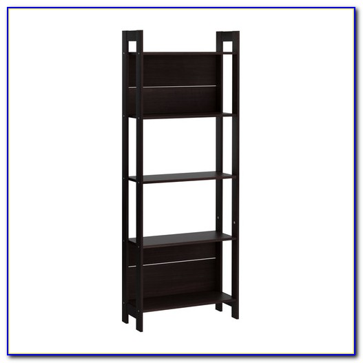 Ikea Floating Shelves Black Brown