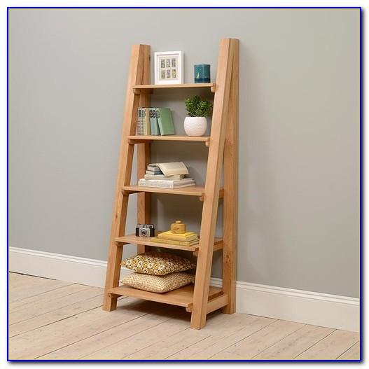 Ladder Bookcase Oak Uk