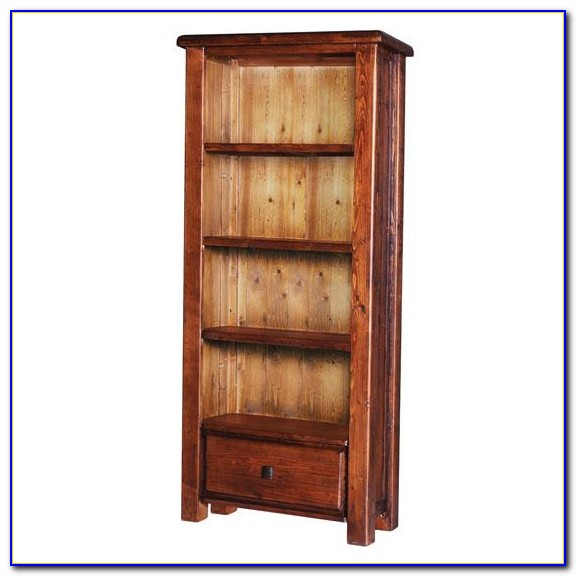 Large Antique Pine Bookcase