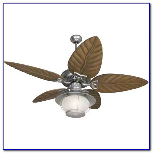 Litex 52 All Weather Galvanized Outdoor Ceiling Fan