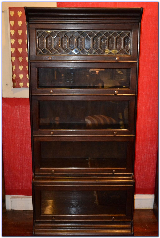 Mahogany Barrister Bookcase