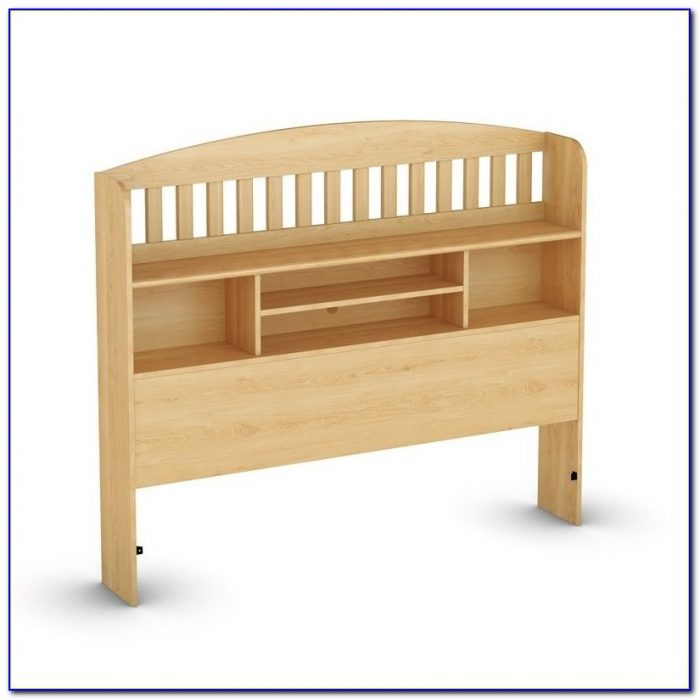 Maple Bookcase Headboard Full