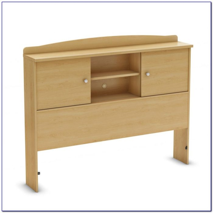 Maple Twin Bookcase Headboard