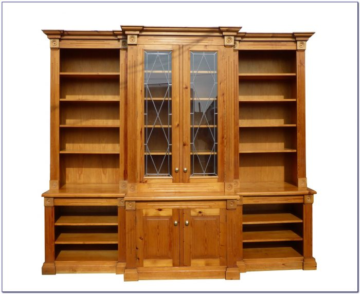 Mexican Pine Large Bookcase