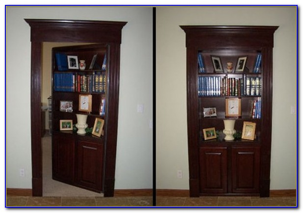 Minecraft Secret Passage Bookcase