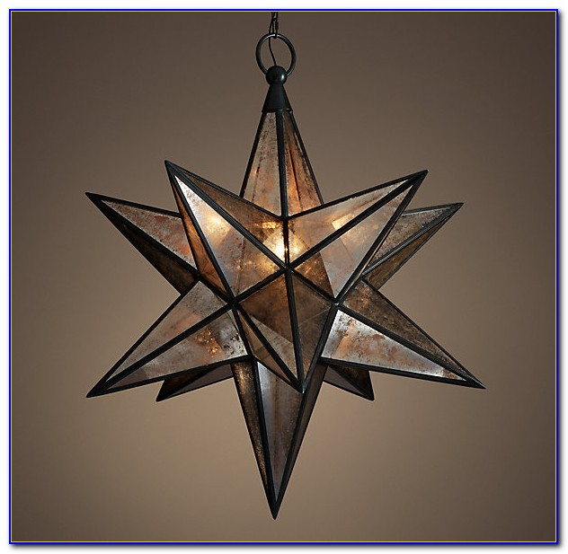 Moravian Star Light Ceiling Mount