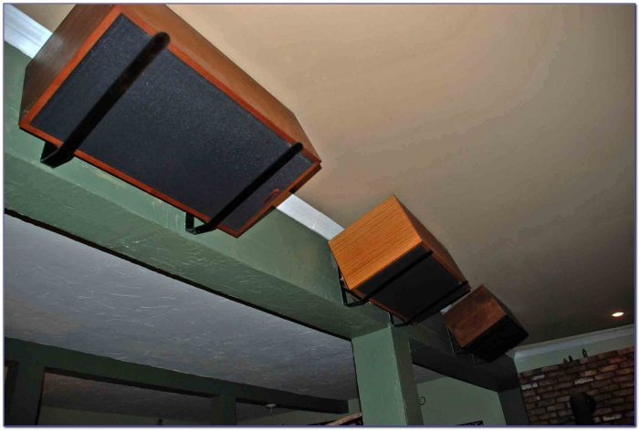 Mounting Speakers From Ceiling