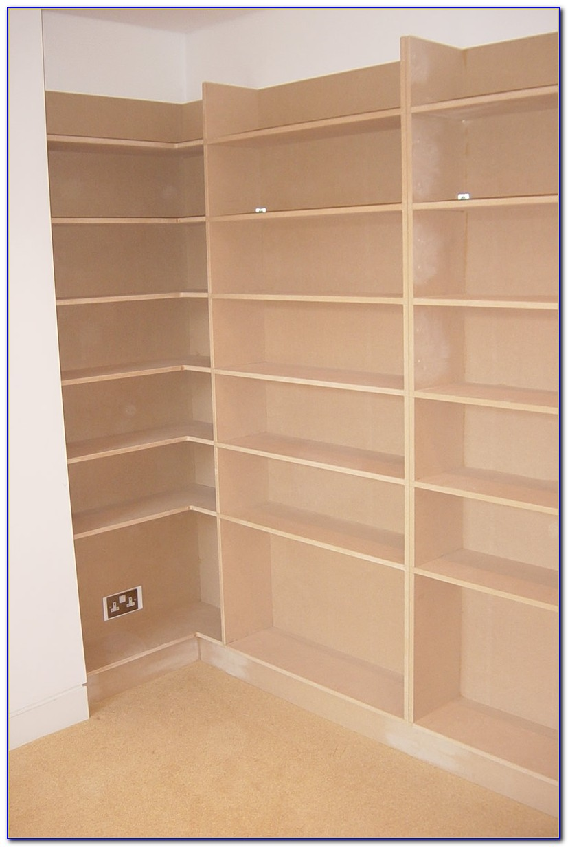 Oak Bookcases Made To Measure