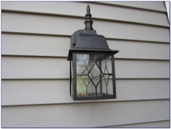 Octagonal Motion Sensor Outdoor Ceiling Light