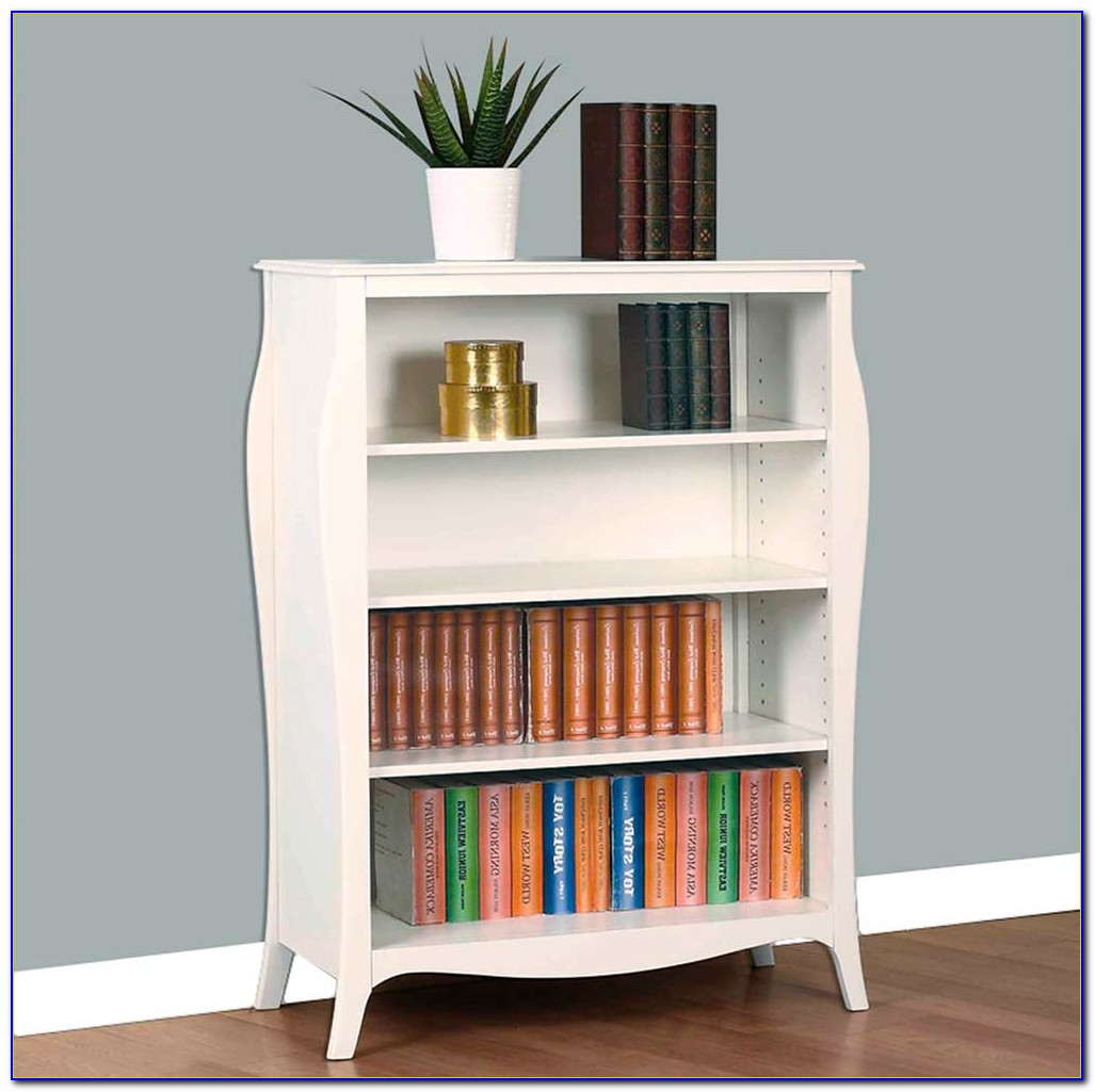 Officeworks White Bookcase