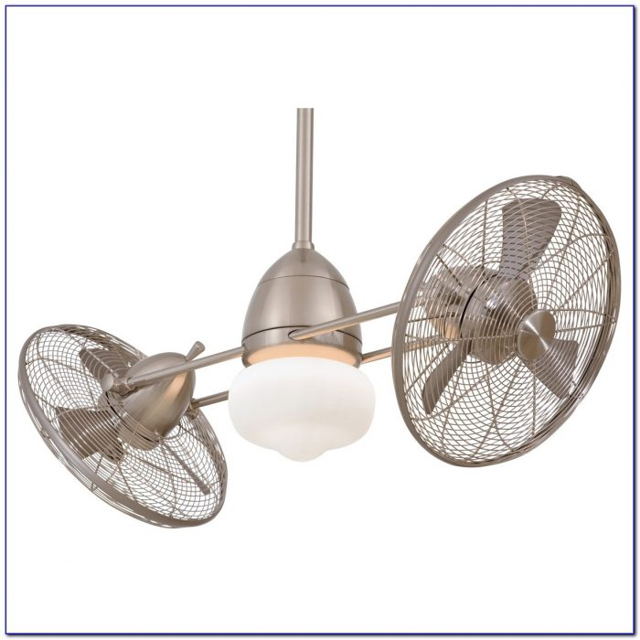Oscillating Ceiling Fan With Light