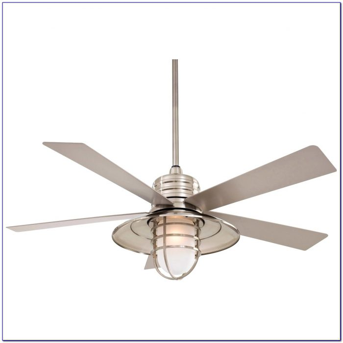 Outdoor Ceiling Fan With Remote And Light