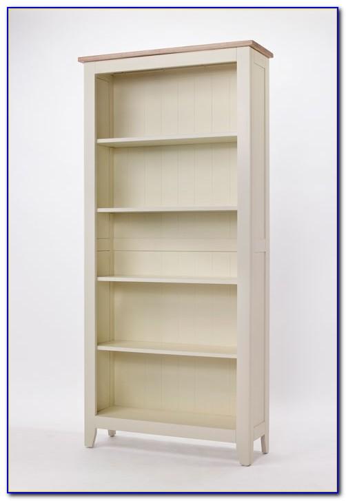 Paint Pine Bookcase White