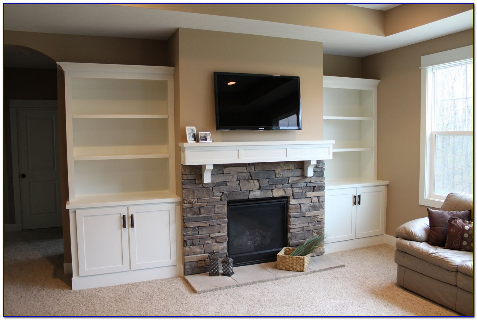 Pictures Of Fireplaces With Built In Bookcases