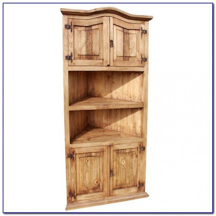 Pine Corner Bookcase