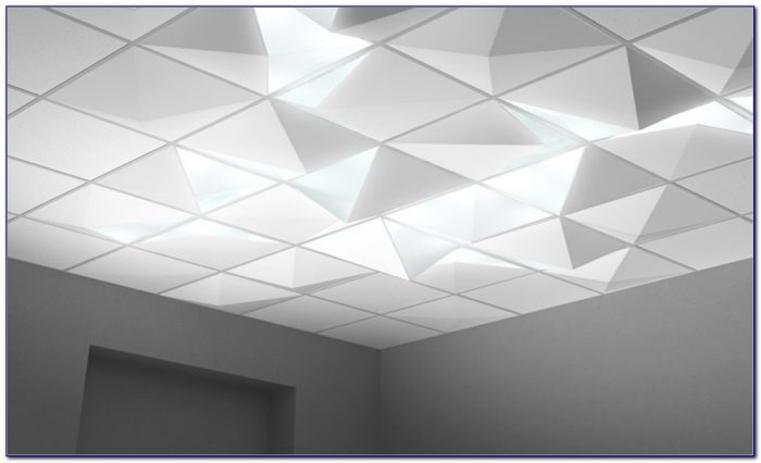 Plastic Drop Ceiling Light Panels