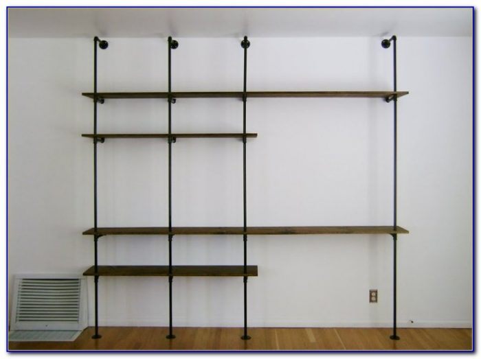 Plumbing Pipe Bookcase Diy