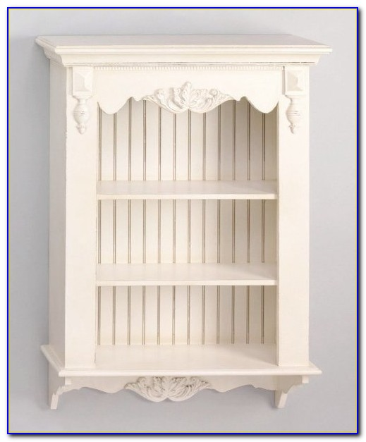 Pottery Barn Beadboard Wall Bookcase