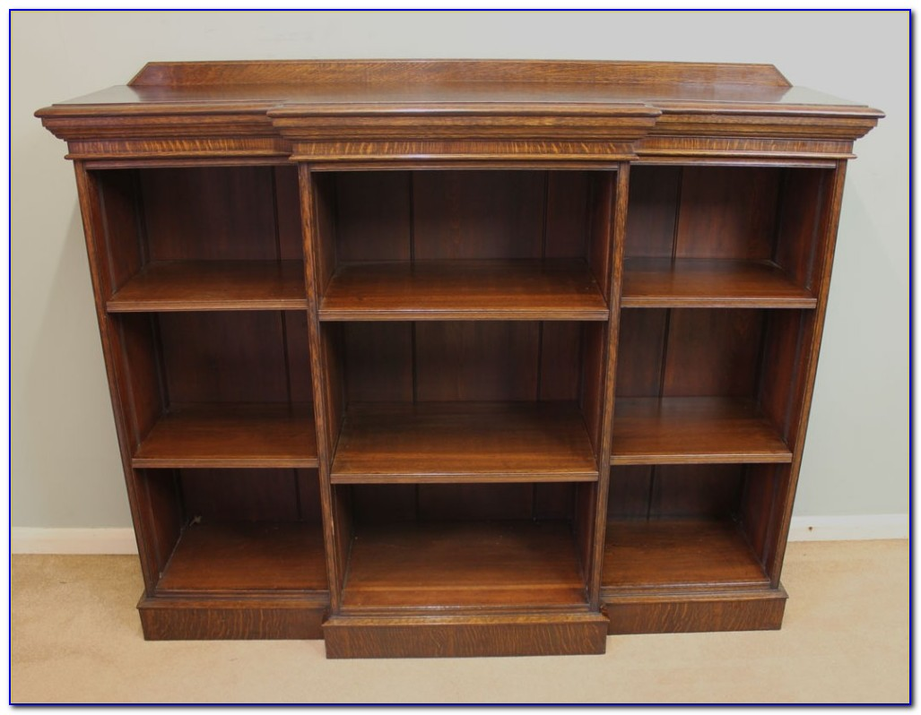 Reclaimed Oak Tall Bookcase