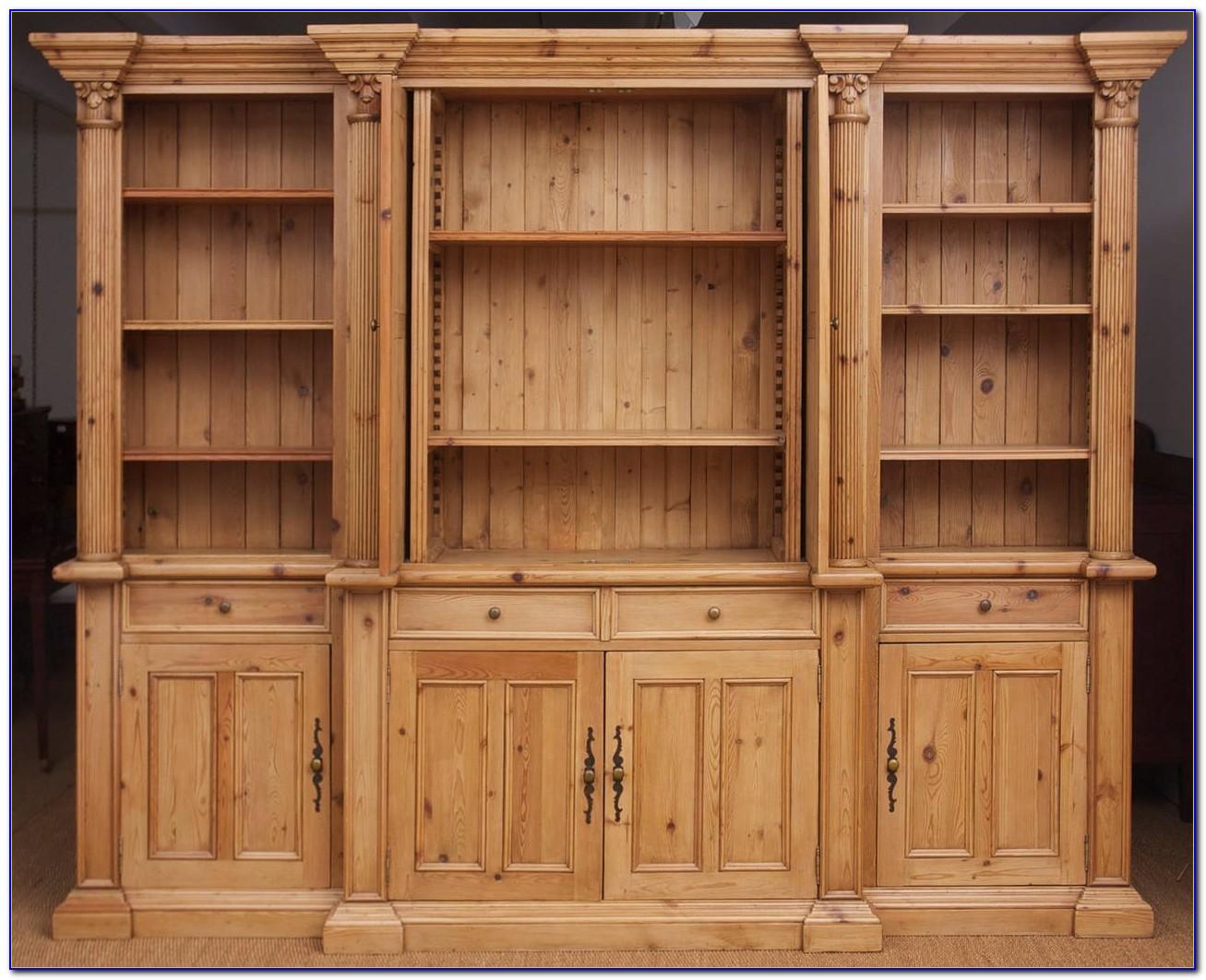 Reclaimed Pine Bookshelf