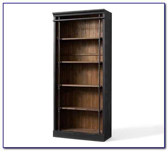 Reclaimed Pine Iron Bookcase